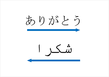 アラビア 語 変換